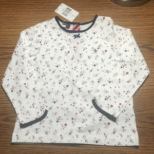 Tommy Hilfiger long sleeve top girl's 3T NWT